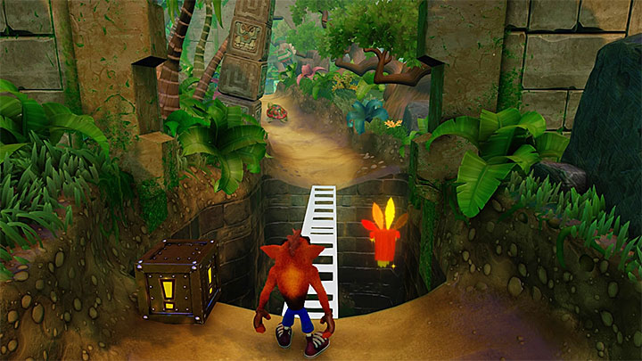 Remember to destroy all encountered chests from the beginning of the level - N. Sanity Beach | N. Sanity Island | Levels - Crash Bandicoot - N. Sanity Island - Crash Bandicoot N. Sane Trilogy Game Guide