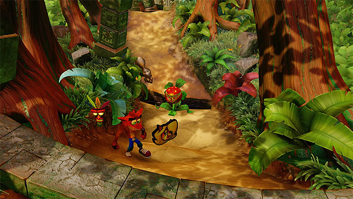 You will find some new attractions from the very start of the level - Jungle Rollers | N. Sanity Island | Levels - Crash Bandicoot - N. Sanity Island - Crash Bandicoot N. Sane Trilogy Game Guide
