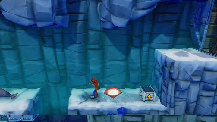 The Red Gem can be obtained in the Snow Go level, BUT you have to unlock the secret portal in the Air Crash stage (see the description of unlocking the Jumping the Jetboard trophy to learn more), first - Laser Powered Vengeance | Crash Bandicoot 2 Trophy Guide - Crash Bandicoot 2: Cortex Strikes Back - Crash Bandicoot N. Sane Trilogy Game Guide