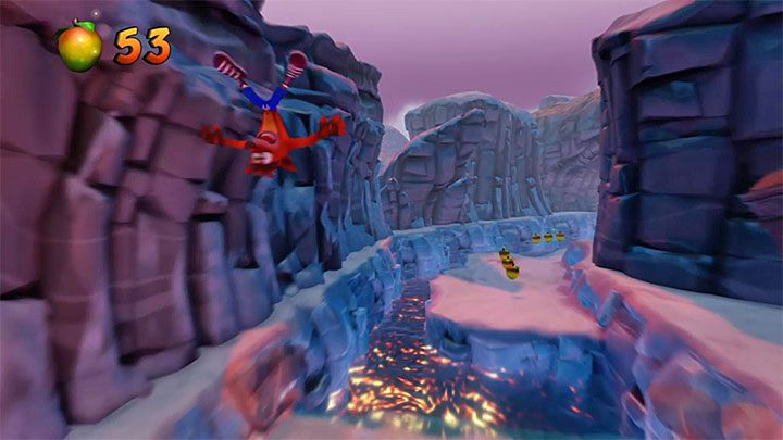 Move as far to the left as possible and make a jump at the last moment - Crash Cubed | Crash Bandicoot 2 Trophy Guide - Crash Bandicoot 2: Cortex Strikes Back - Crash Bandicoot N. Sane Trilogy Game Guide