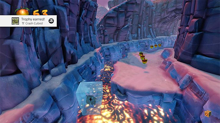 The protagonist has to land in the air hole and freeze to death (above picture) - Crash Cubed | Crash Bandicoot 2 Trophy Guide - Crash Bandicoot 2: Cortex Strikes Back - Crash Bandicoot N. Sane Trilogy Game Guide