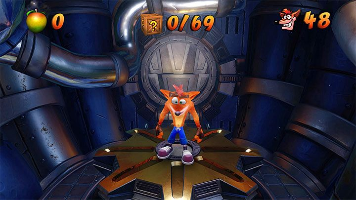 The current number of lives can be checked by pressing Triangle while playing or by selecting the load and save menu (L2) - 99 Percent Perspiration | Crash Bandicoot 2 Trophy Guide - Crash Bandicoot 2: Cortex Strikes Back - Crash Bandicoot N. Sane Trilogy Game Guide