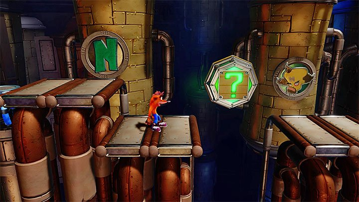 2 - Piston It Away | Crash Bandicoot 2 | Levels - Crash Bandicoot 2 - High-Tech Warp Room - Crash Bandicoot N. Sane Trilogy Game Guide