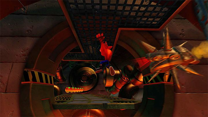 Get to the metal ledge (the above picture) and a secret portal will activate - Totally Fly | Crash Bandicoot 2 | Levels - Crash Bandicoot 2 - Secret levels - Crash Bandicoot N. Sane Trilogy Game Guide