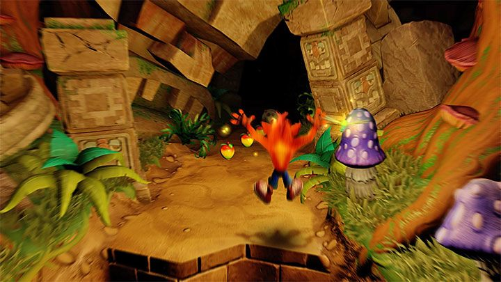 Similarly to the aforementioned Night Fight level, you have to use the help of the fireflies you encounter - Totally Fly | Crash Bandicoot 2 | Levels - Crash Bandicoot 2 - Secret levels - Crash Bandicoot N. Sane Trilogy Game Guide