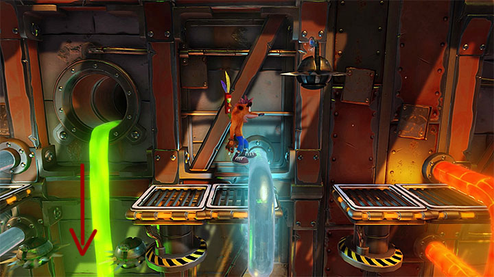 Virtually, from the beginning of this stage, you will have to handle all kinds of robots - Heavy Machinery | Cortex Island | Levels - Crash Bandicoot - Cortex Island - Crash Bandicoot N. Sane Trilogy Game Guide