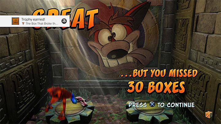 crash bandicoot ps4 trophy guide