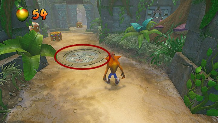 Begin following the main path which should lead you to a small water basin - Turtle Woods | Crash Bandicoot 2 | Levels - Crash Bandicoot 2 - Jungle Warp Room - Crash Bandicoot N. Sane Trilogy Game Guide