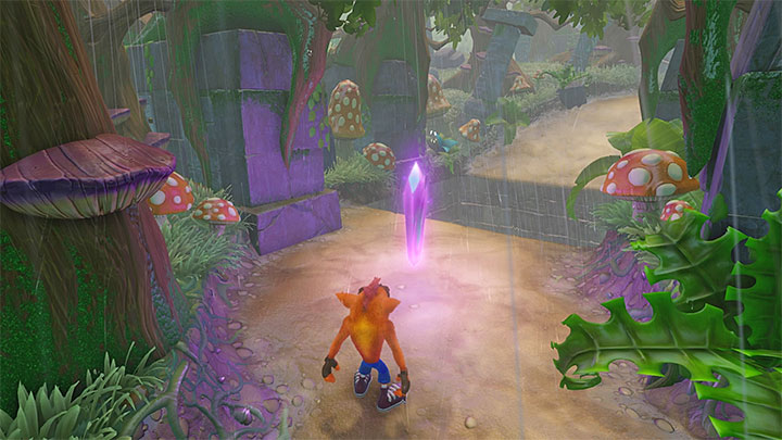 Jump inside the pit - Turtle Woods | Crash Bandicoot 2 | Levels - Crash Bandicoot 2 - Jungle Warp Room - Crash Bandicoot N. Sane Trilogy Game Guide
