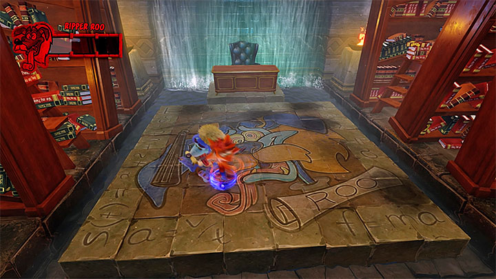 The detonation of the nitro crates will incapacitate your opponent for a short while - Ripper Roo | Boss Fights in Crash Bandicoot 2 - Crash Bandicoot 2 - Crash Bandicoot N. Sane Trilogy Game Guide