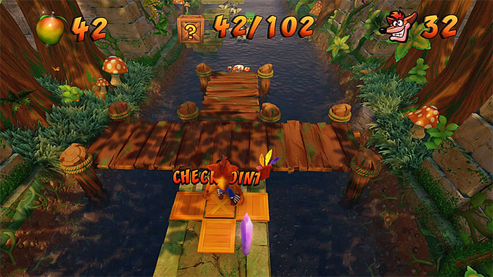 After you return to the main river, head on - Air Crash | Crash Bandicoot 2 | Levels - Crash Bandicoot 2 - Ice Warp Room - Crash Bandicoot N. Sane Trilogy Game Guide