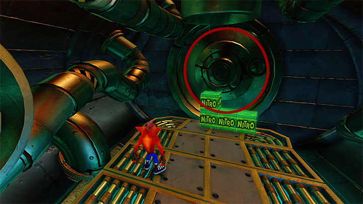 From the moment that you reach the next checkpoint, you will also have to watch out for rats wearing armors with spikes - The Eel Deal | Crash Bandicoot 2 | Levels - Crash Bandicoot 2 - Ice Warp Room - Crash Bandicoot N. Sane Trilogy Game Guide