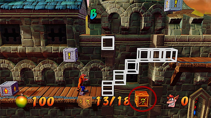 Head on - Gee Wiz | Crash Bandicoot 3 | Levels - Crash Bandicoot 3 - Arabic location - Crash Bandicoot N. Sane Trilogy Game Guide