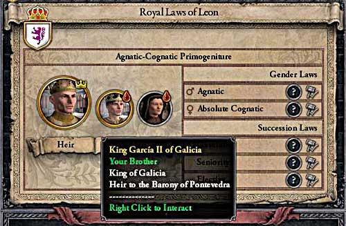Succession | House - Crusader Kings 2 Game Guide | gamepressure com