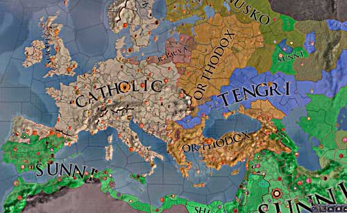 Basics | Religion - Crusader Kings 2 Game Guide | gamepressure.com