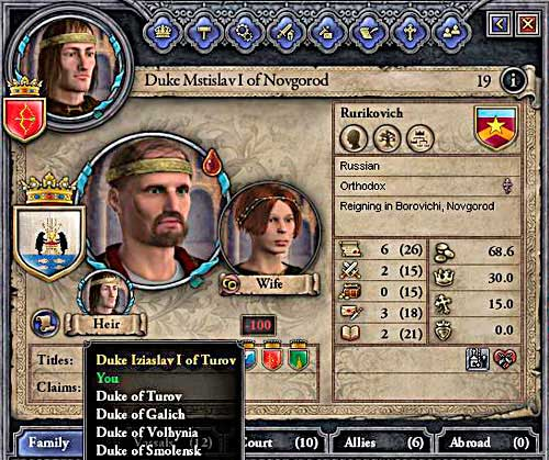 If you can take over sons lands, why not to do so? - Duke - Riding on a Top - Crusader Kings II - Game Guide and Walkthrough