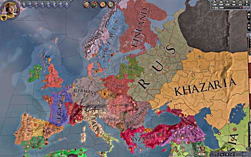All kingdoms de jure. - Duke - Riding on a Top - Crusader Kings II - Game Guide and Walkthrough