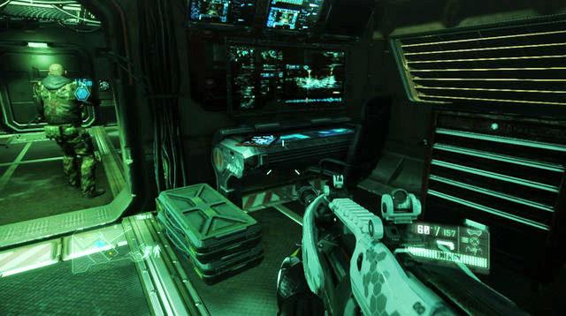 meet psycho in control room crysis 3 demo