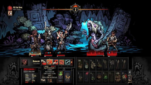 It is not the end of the world if the character is pulled over to the other side - they return to your side after several turns - Siren | Bosses - Bosses - Darkest Dungeon Game Guide & Walkthrough
