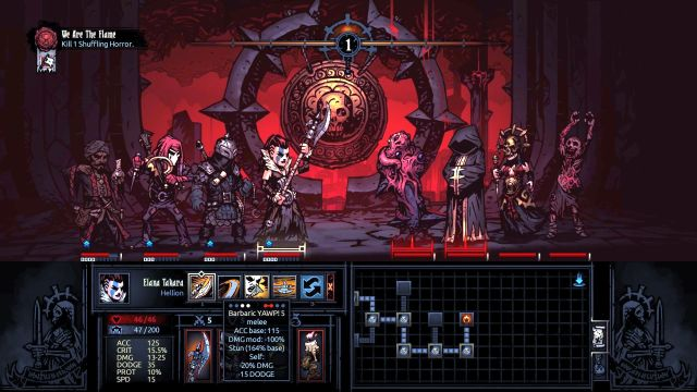 New enemies in all glory. - We Are the Flame | Walkthrough - Darkest Dungeon location - Walkthrough - Darkest Dungeon location - Darkest Dungeon Game Guide & Walkthrough