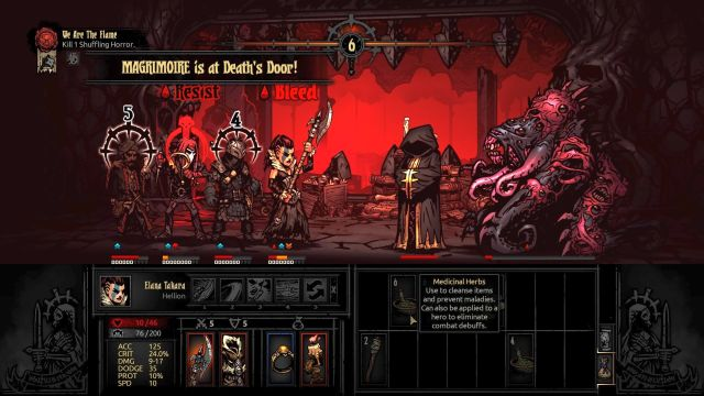 Just like in the case of Shambler, making this battle too long may have grave effects... - We Are the Flame | Walkthrough - Darkest Dungeon location - Walkthrough - Darkest Dungeon location - Darkest Dungeon Game Guide & Walkthrough