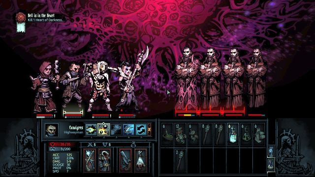 Elimination of imperfect copies of boss decreases his health level. - Hell is in the Heart | Walkthrough - Darkest Dungeon location - Walkthrough - Darkest Dungeon location - Darkest Dungeon Game Guide & Walkthrough