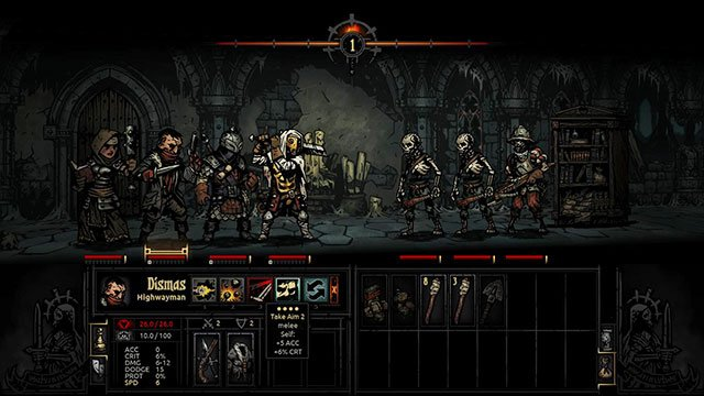 A frustrating situation especially at the beginning of the game - Fight | Dungeons - Dungeons - Darkest Dungeon Game Guide & Walkthrough
