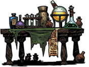 Alchemy Table - Ruins | Curio - Curio - Darkest Dungeon Game Guide & Walkthrough