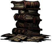 Stack of Books - Ruins | Curio - Curio - Darkest Dungeon Game Guide & Walkthrough