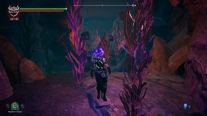 There is a minefield ahead of you - Eroded Pipelineb | Darksiders 3 Walkthrough - Walkthrough - Darksiders 3 Guide