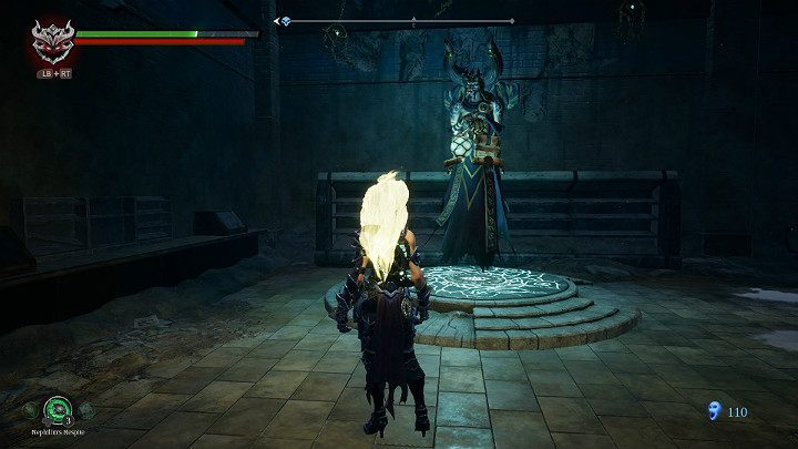 Make sure you have activated the checkpoint - Sunken Tracks | Darksiders 3 Walkthrough - Walkthrough - Darksiders 3 Guide