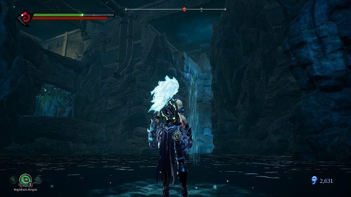 Use stasis hollow to get to the top - Pipeline Exit | Darksiders 3 Walkthrough - Walkthrough - Darksiders 3 Guide