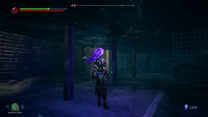Begin with picking up the item on the bottom - Pipeline Exit | Darksiders 3 Walkthrough - Walkthrough - Darksiders 3 Guide