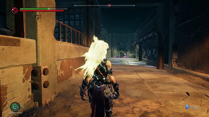 In the next room, you will have to take out two enemies - Pipeline Exit | Darksiders 3 Walkthrough - Walkthrough - Darksiders 3 Guide