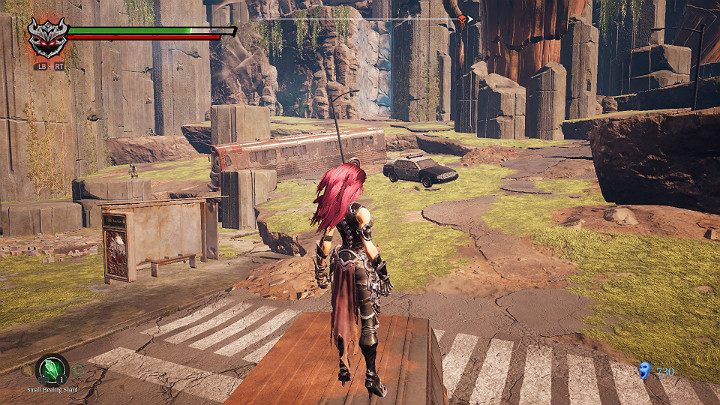 Return to the beginning of the location and this time go left - Haven | Darksiders 3 Walkthrough - Walkthrough - Darksiders 3 Guide