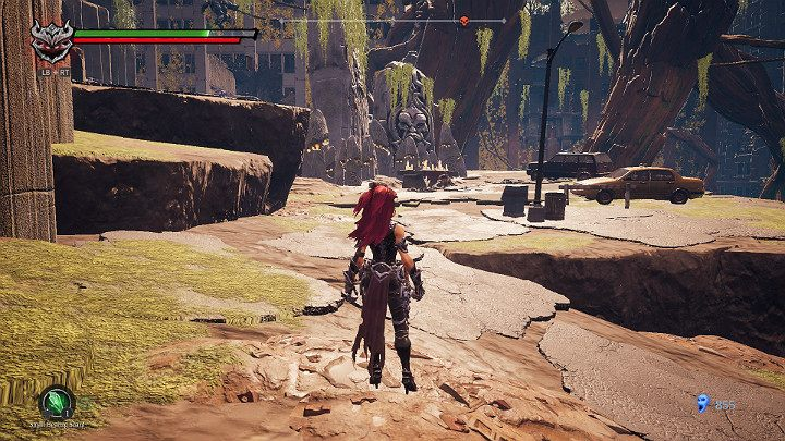 At the altar visible in the distance you will come across 2 enemies - Haven | Darksiders 3 Walkthrough - Walkthrough - Darksiders 3 Guide