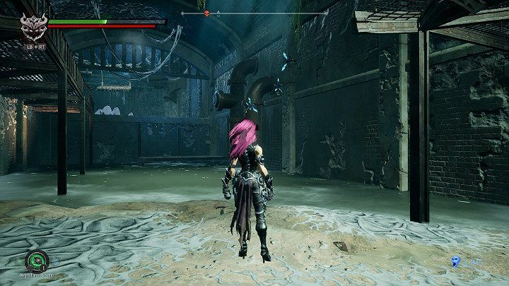 Another new type of opponent is flying insects, who like to stick to walls or other objects and wait for their prey - Nether | Darksiders 3 Walkthrough - Walkthrough - Darksiders 3 Guide