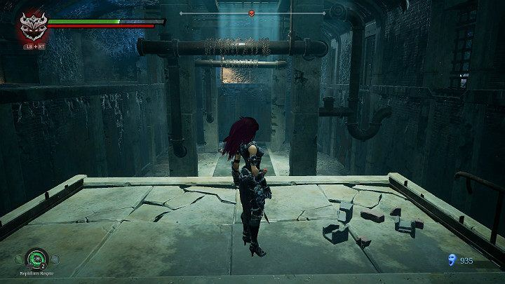Return to a higher level of the room and jump to the other side - Nether | Darksiders 3 Walkthrough - Walkthrough - Darksiders 3 Guide