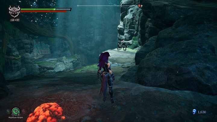 Another agile opponent stands in front of you - Nether | Darksiders 3 Walkthrough - Walkthrough - Darksiders 3 Guide