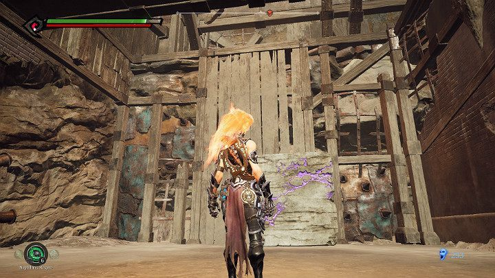In this way you have created the stairs leading to the next checkpoint - The Lowlands | Darksiders 3 Walkthrough - Walkthrough - Darksiders 3 Guide