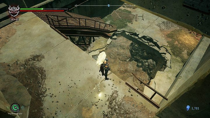 Using the corridor behind Usiel youll reach the end of this stage of the game - Festering pool | Darksiders 3 Walkthrough - Walkthrough - Darksiders 3 Guide