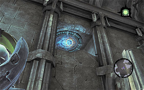 2) The stone can be found after unlocking access to the north door of the central area with the large waterfall and taking the path leading to the Scribe - Resistance Stonebites locations - Lostlight - Sticks and Stones - Darksiders II - Game Guide and Walkthrough