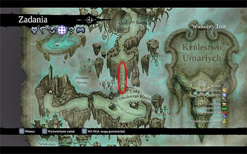 1 - Resistance Stonebites locations - The Kingdom of the Dead - Sticks and Stones - Darksiders II - Game Guide and Walkthrough