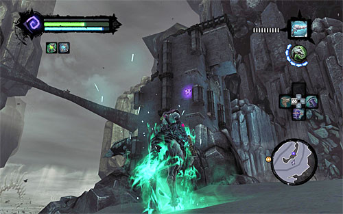 3 - Power Stonebites locations - The Kingdom of the Dead - Sticks and Stones - Darksiders II - Game Guide and Walkthrough