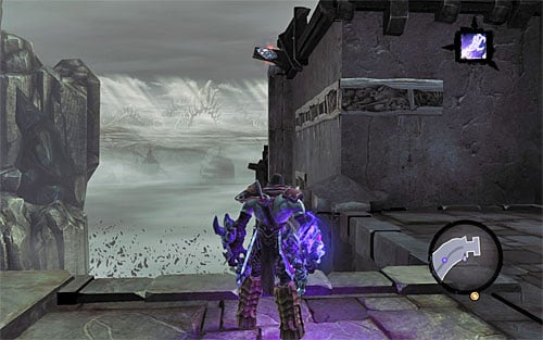 1) You can find the stone as soon as you go through the small ruins connecting the Maw with the Spine - Power Stonebites locations - The Kingdom of the Dead - Sticks and Stones - Darksiders II - Game Guide and Walkthrough