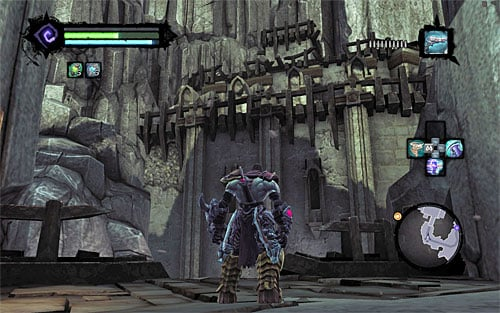 1 - Power Stonebites locations - The Kingdom of the Dead - Sticks and Stones - Darksiders II - Game Guide and Walkthrough