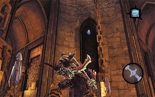 1) You can find the stone in the south-eastern part of the lift shaft (the one used to move between the floors of the tomb) - Mystic Stonebites locations - The Kingdom of the Dead - Sticks and Stones - Darksiders II - Game Guide and Walkthrough