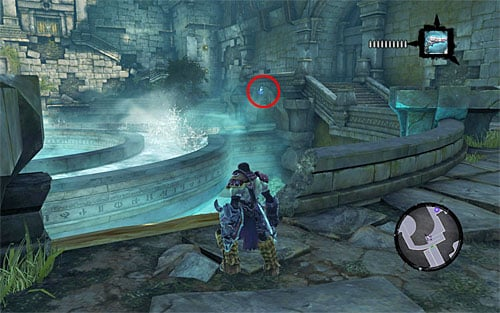 6 - Mystic Stonebites locations - Forge Lands - Sticks and Stones - Darksiders II - Game Guide and Walkthrough