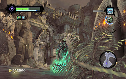 5 - Mystic Stonebites locations - Forge Lands - Sticks and Stones - Darksiders II - Game Guide and Walkthrough