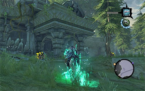 1 - Mystic Stonebites locations - Forge Lands - Sticks and Stones - Darksiders II - Game Guide and Walkthrough
